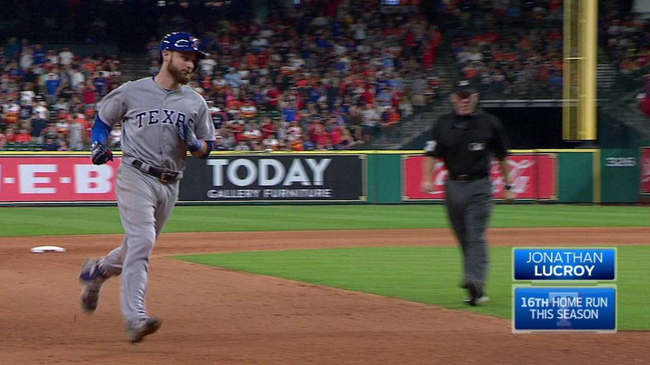 Lucroy's second big fly