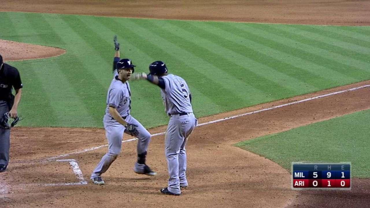 Braun's three-run homer
