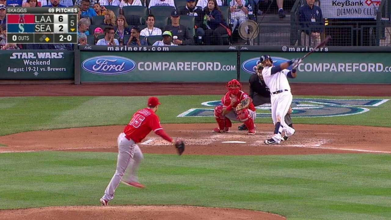 Gutierrez's two-run homer