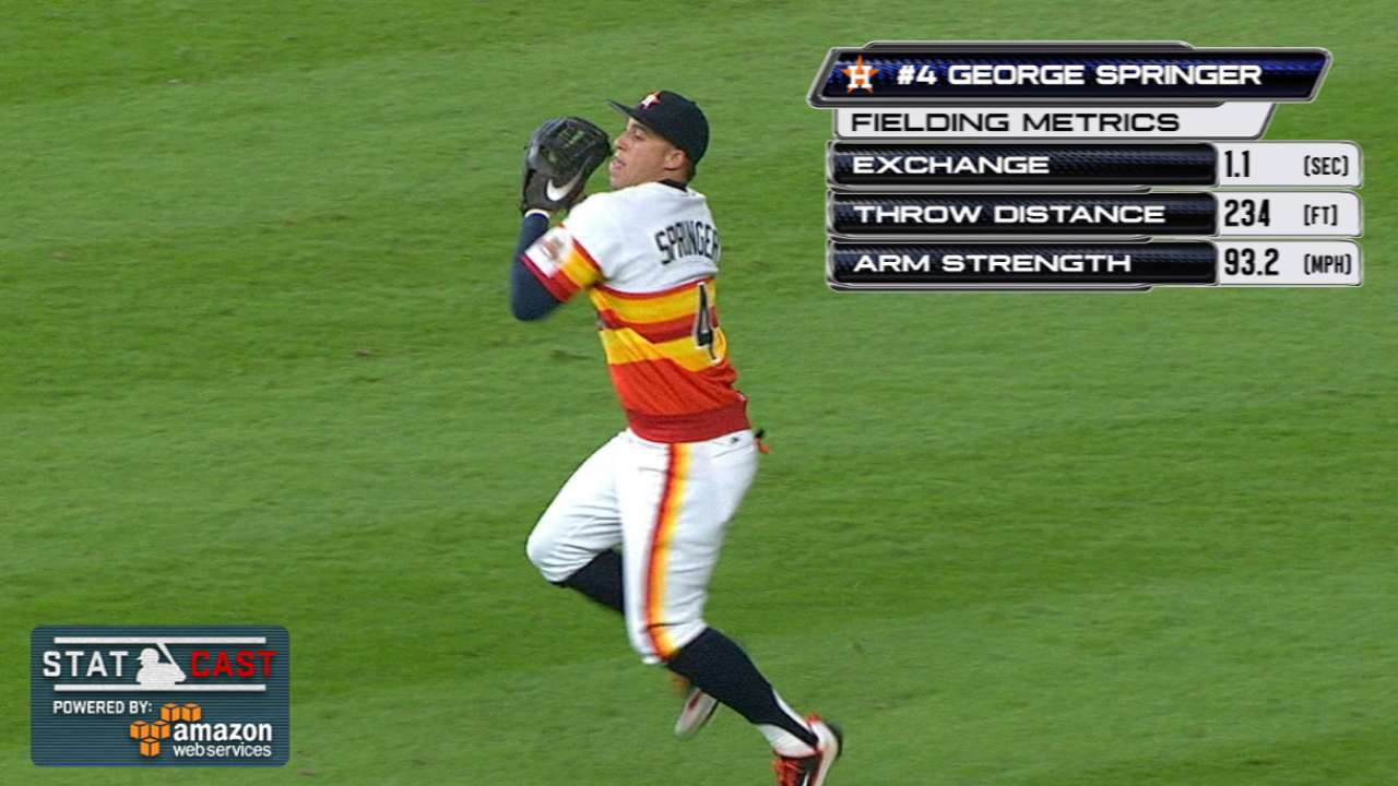 Run prevention: Astros nail 2 at home