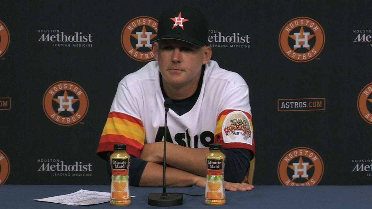 Astros understand importance of August games
