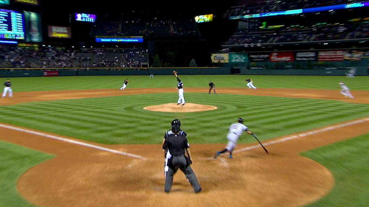 Oberg flashes leather to avoid Ichiro infamy