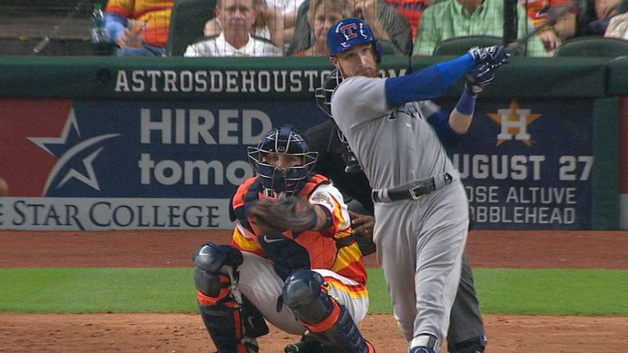 Must C: Lucroy clubs two homers