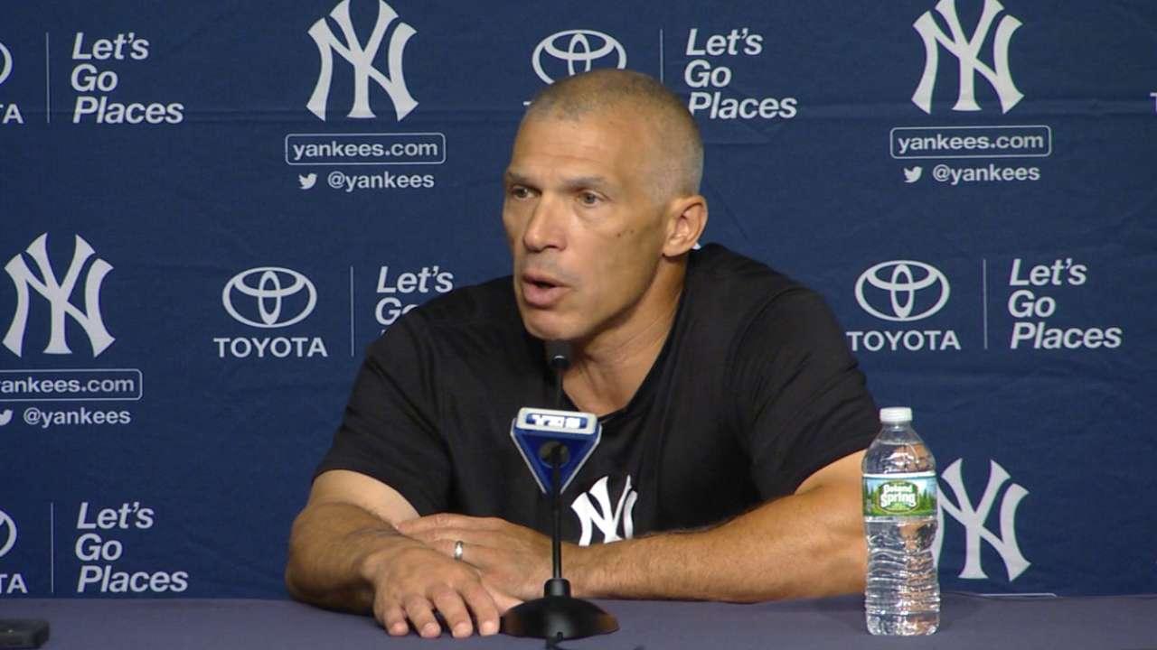 Girardi on Yankees' tough month