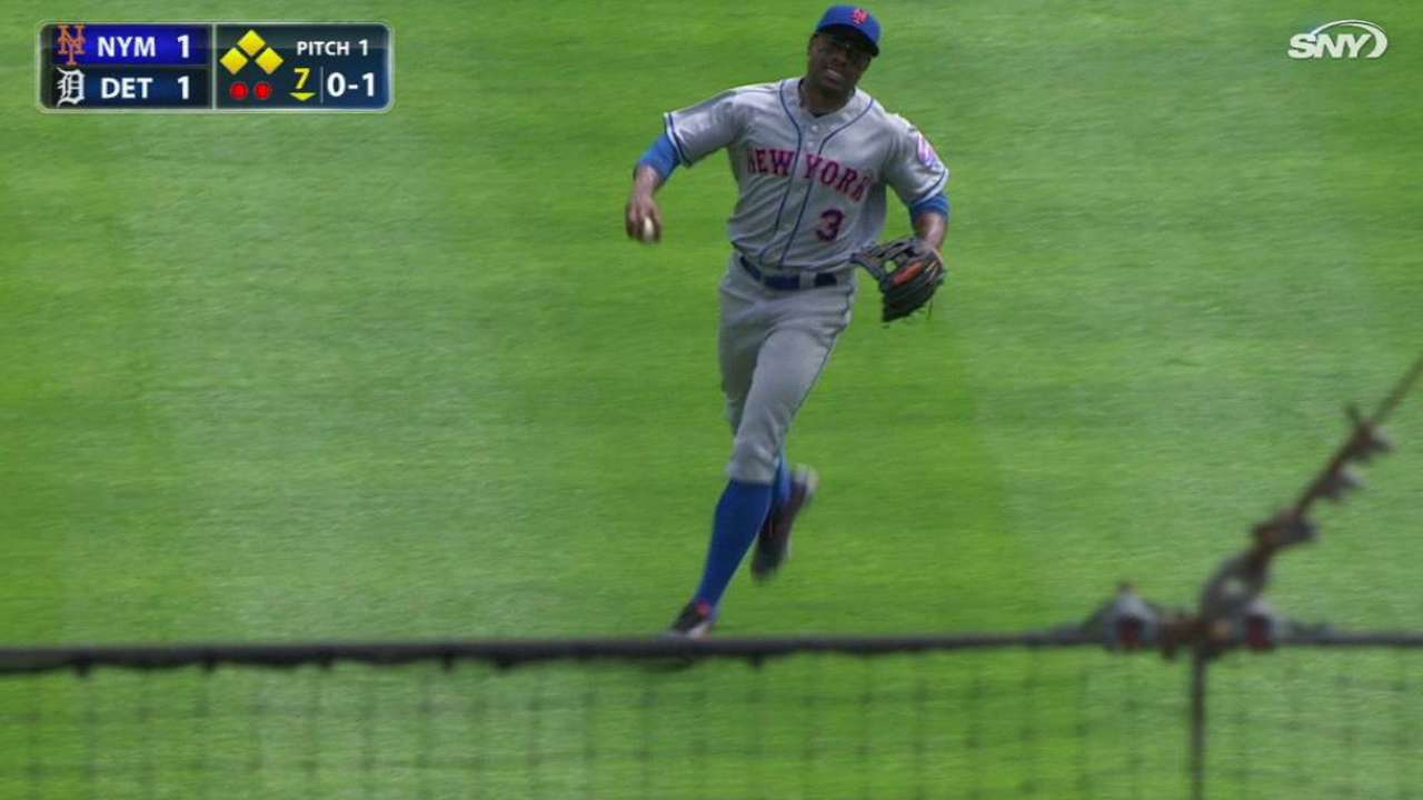 Granderson's running catch