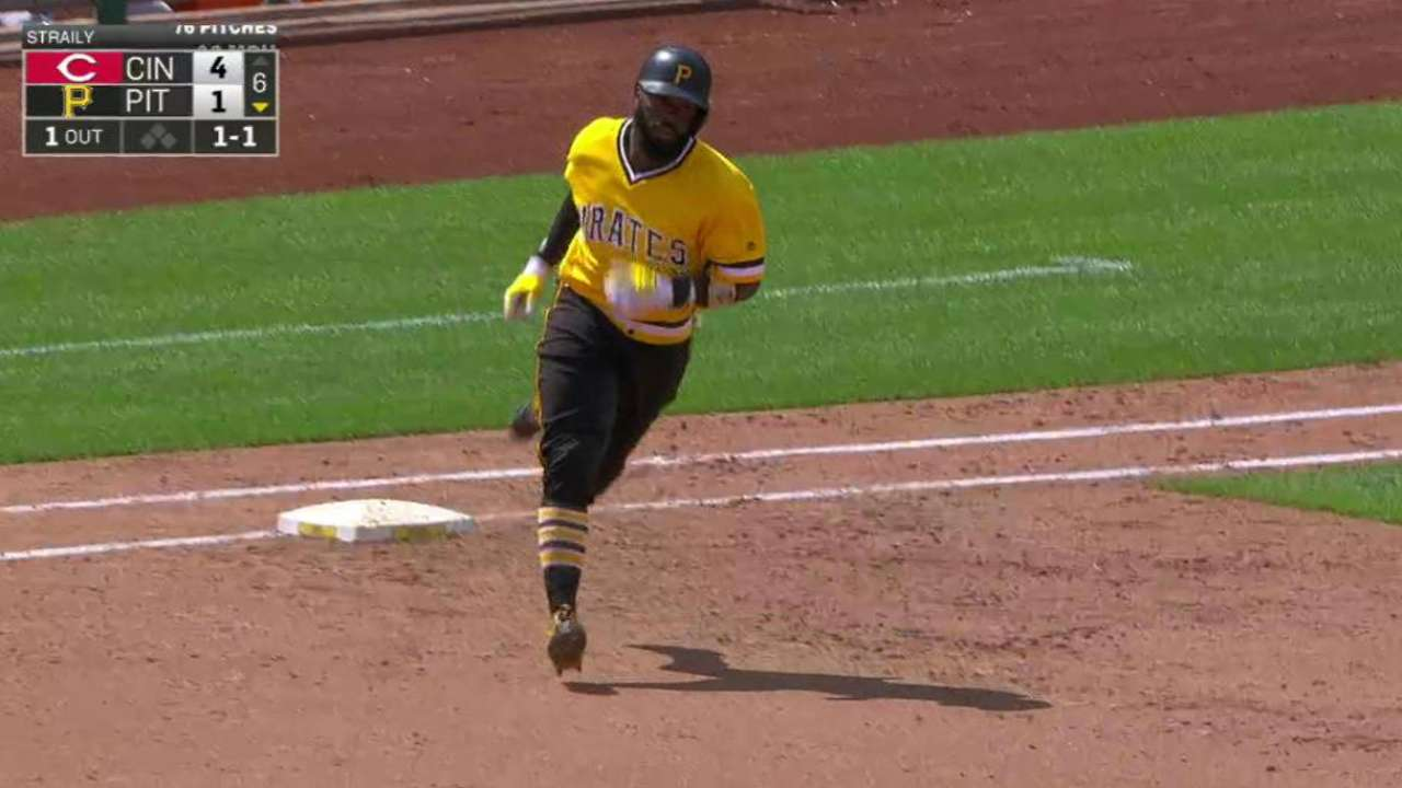 Harrison to remain in leadoff spot after homer