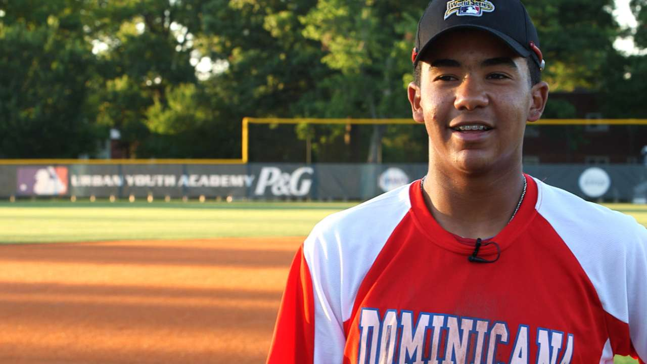 Pedro Jr. steps into spotlight at RBI World Series