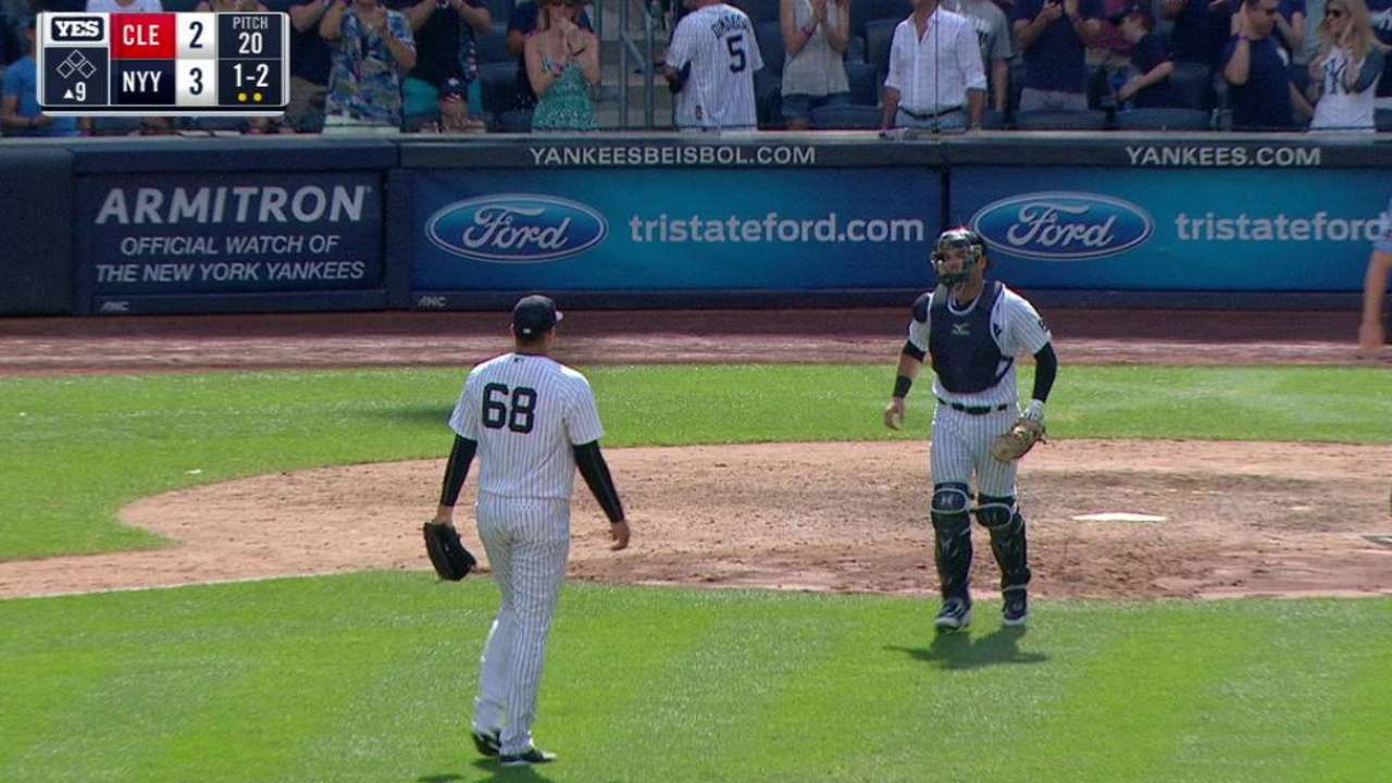 Betances records the save