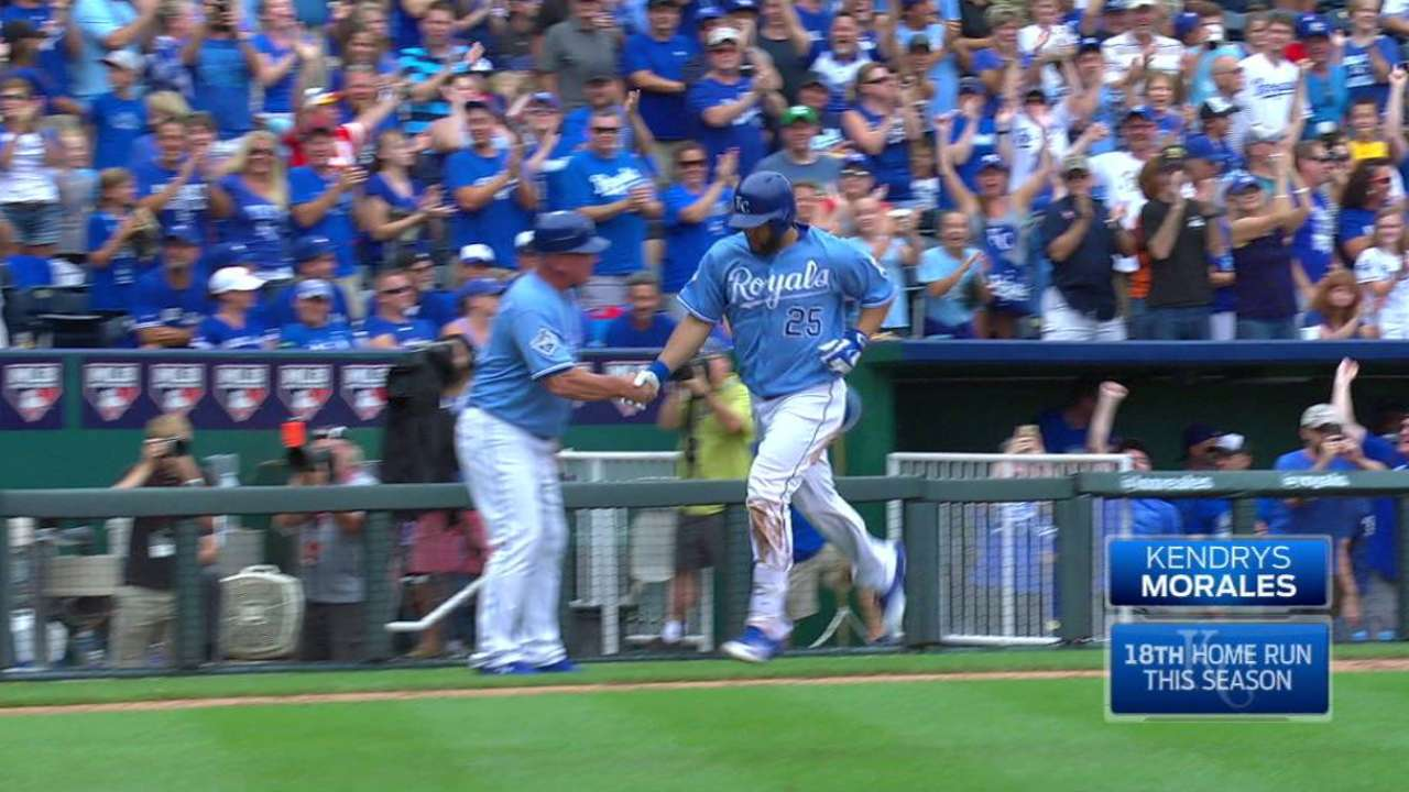 Royals 'slam' door on series win against Jays