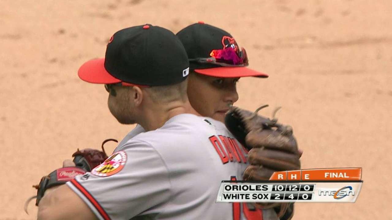 Ubaldo Jiménez le ha dado un respiro al bullpen de los Orioles