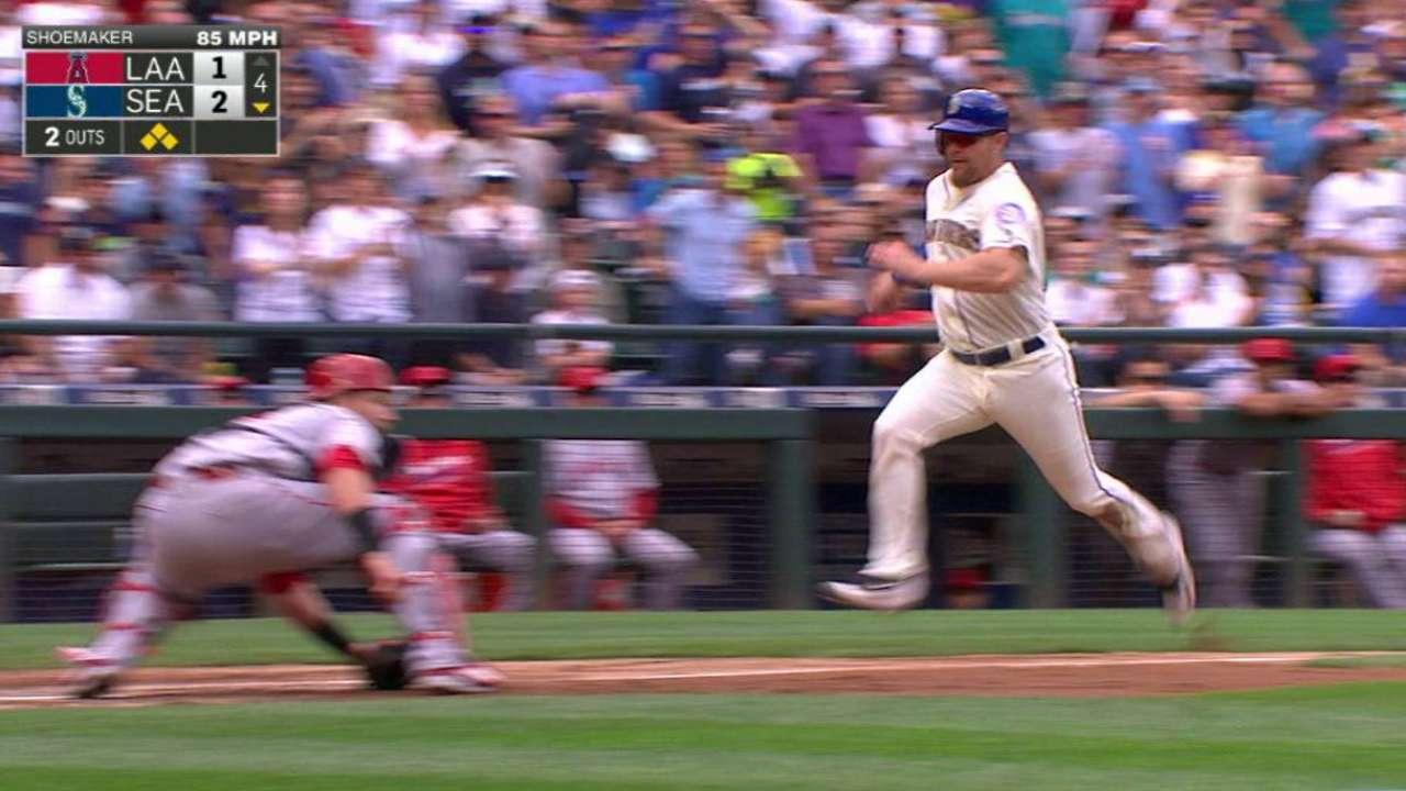 Freeman's first big league RBI