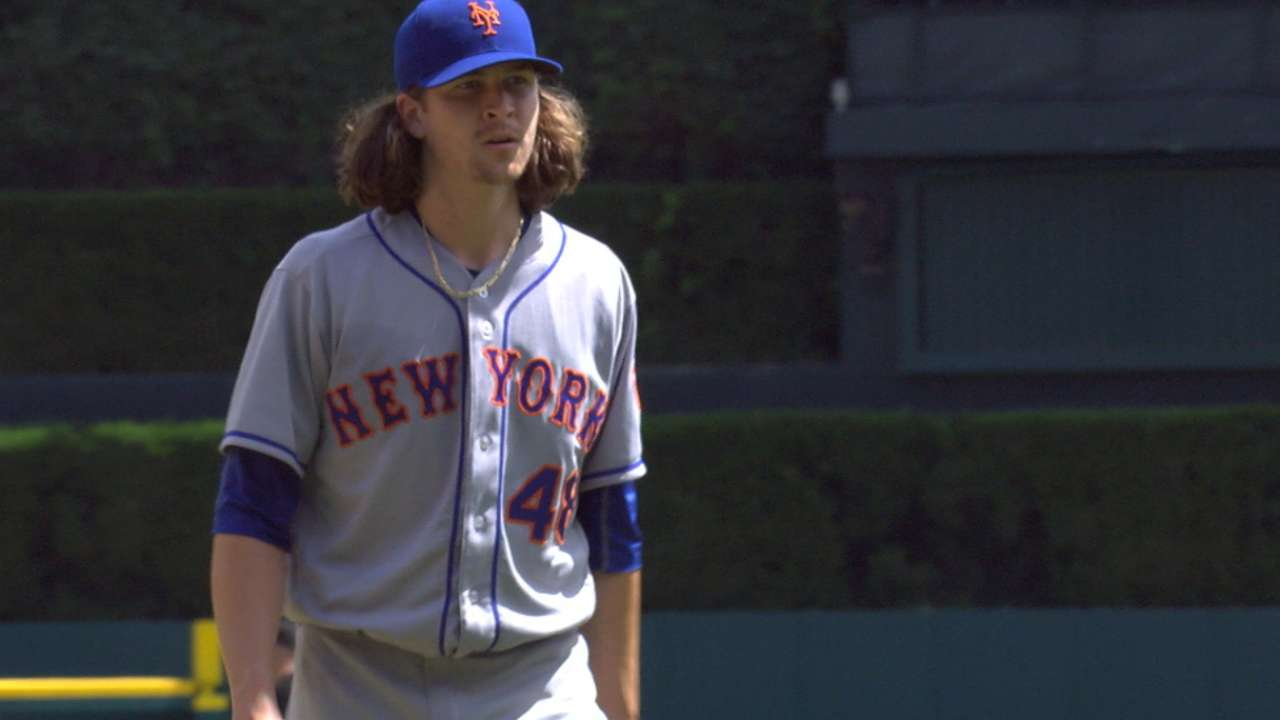 deGrom returning to Mets' rotation Sunday