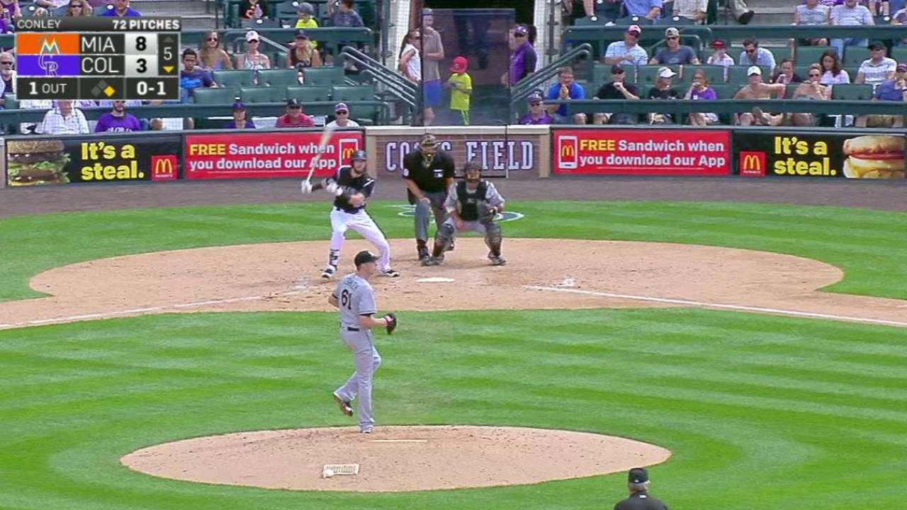 Dahl extends hitting streak