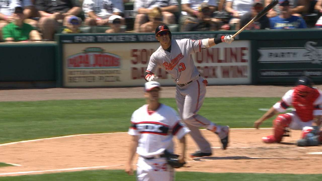 Must C: Machado's three homers