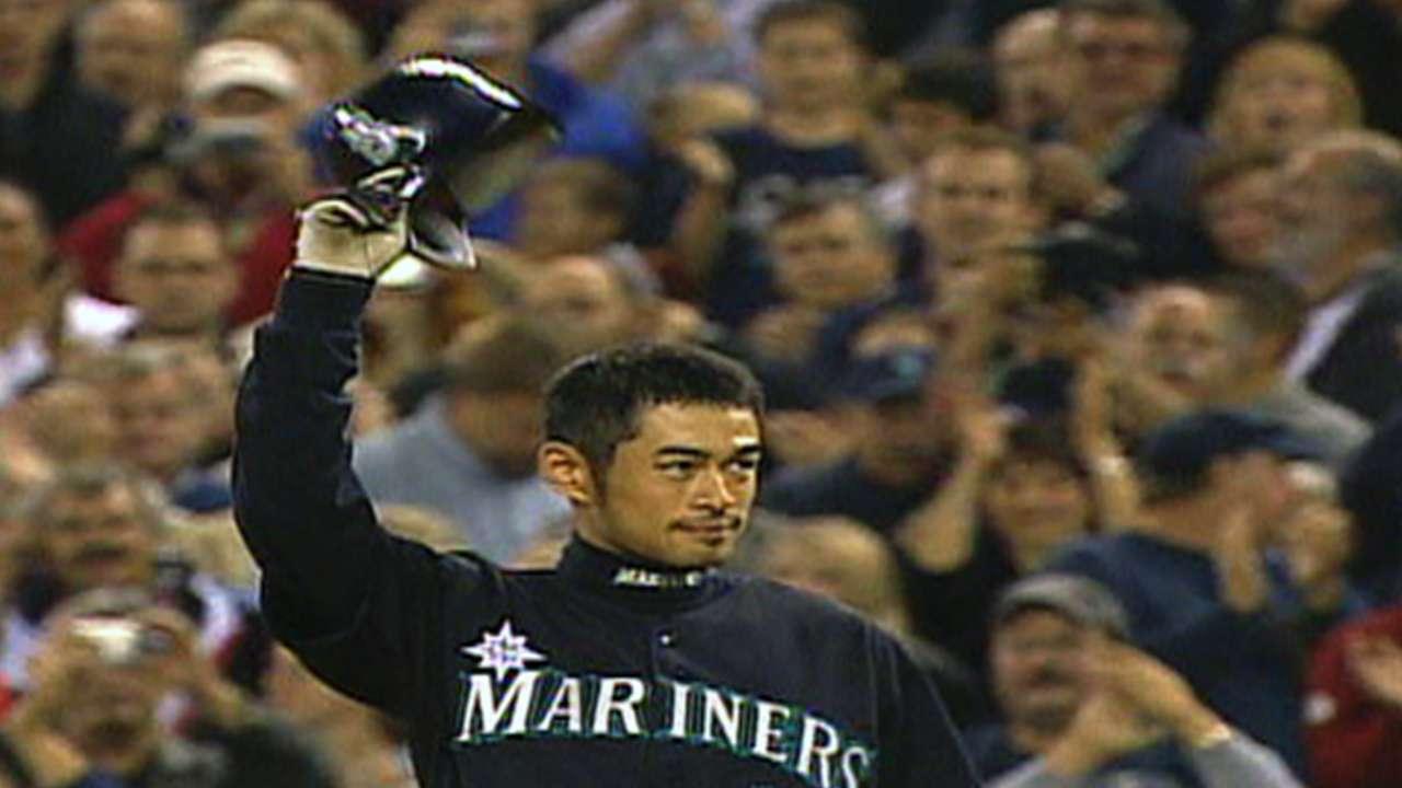 Ichiro's record-breaking hit