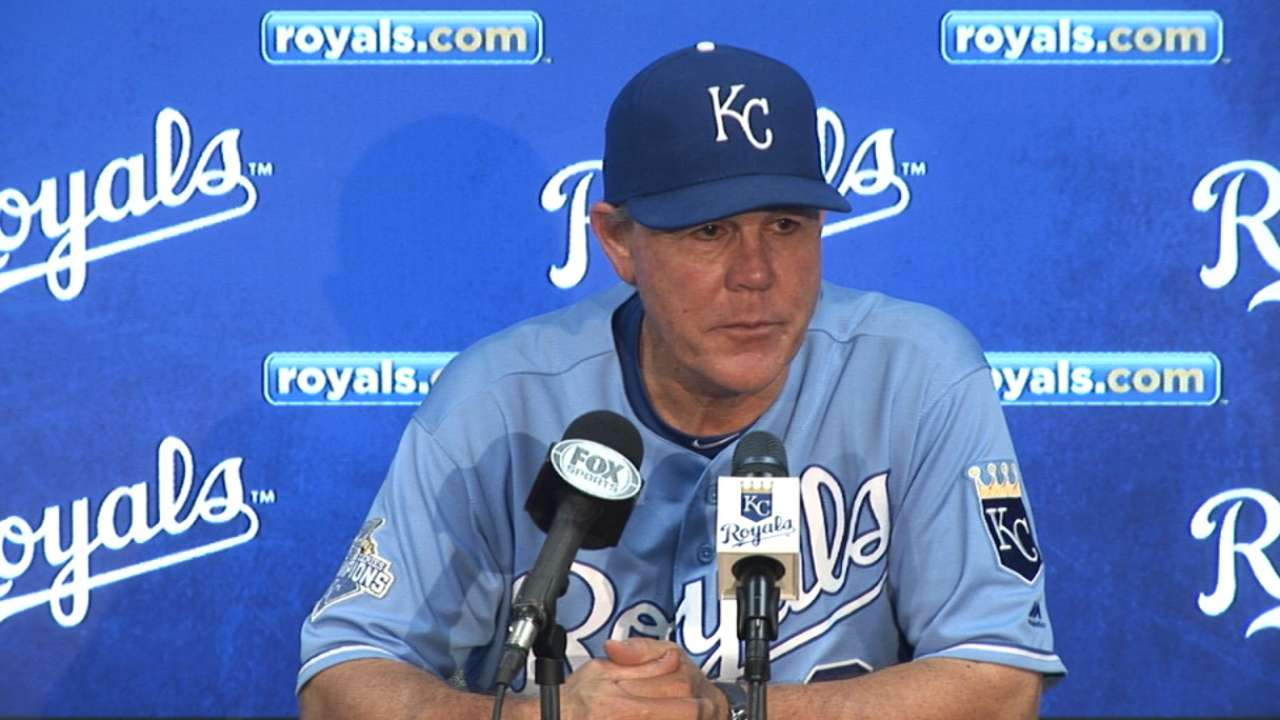 Inbox: Core of Royals' roster to remain intact?
