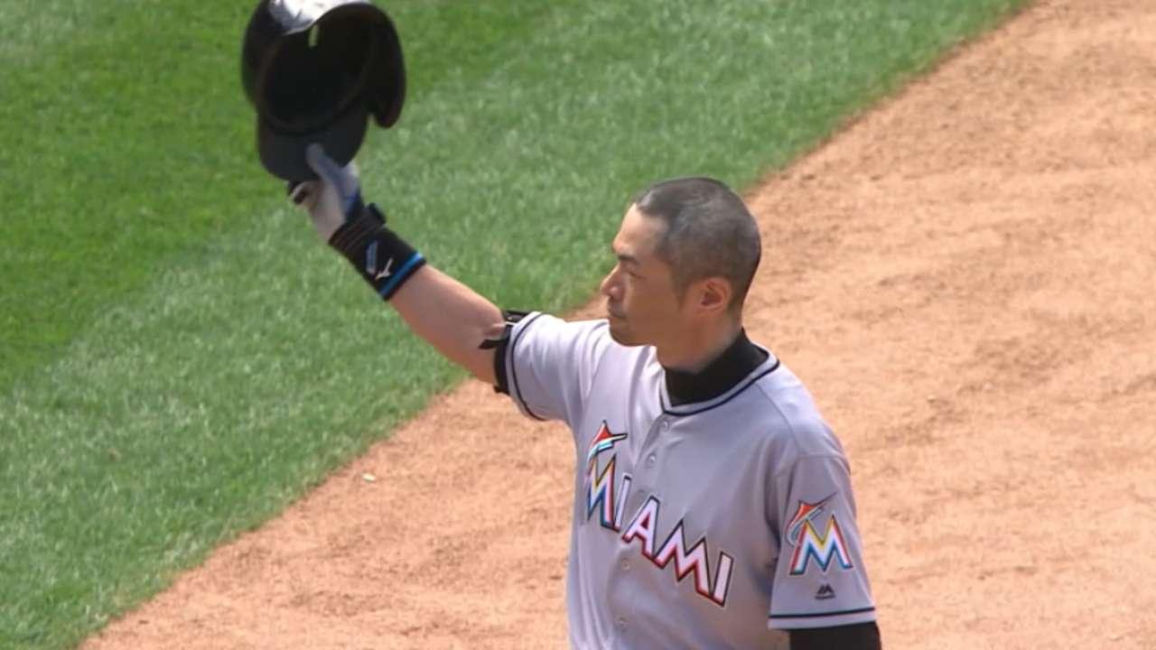 Japanese call of Ichiro's 3000th