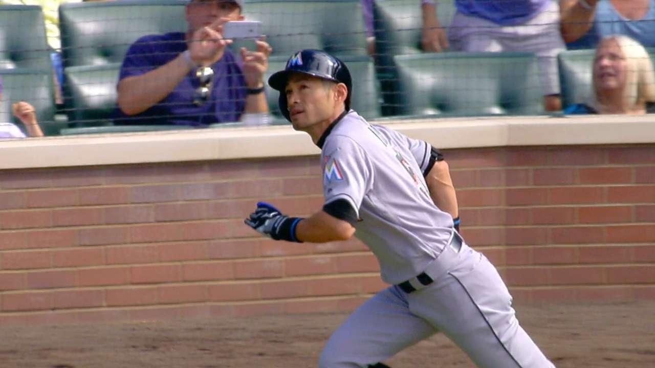 Radio calls Ichiro's 3,000th hit