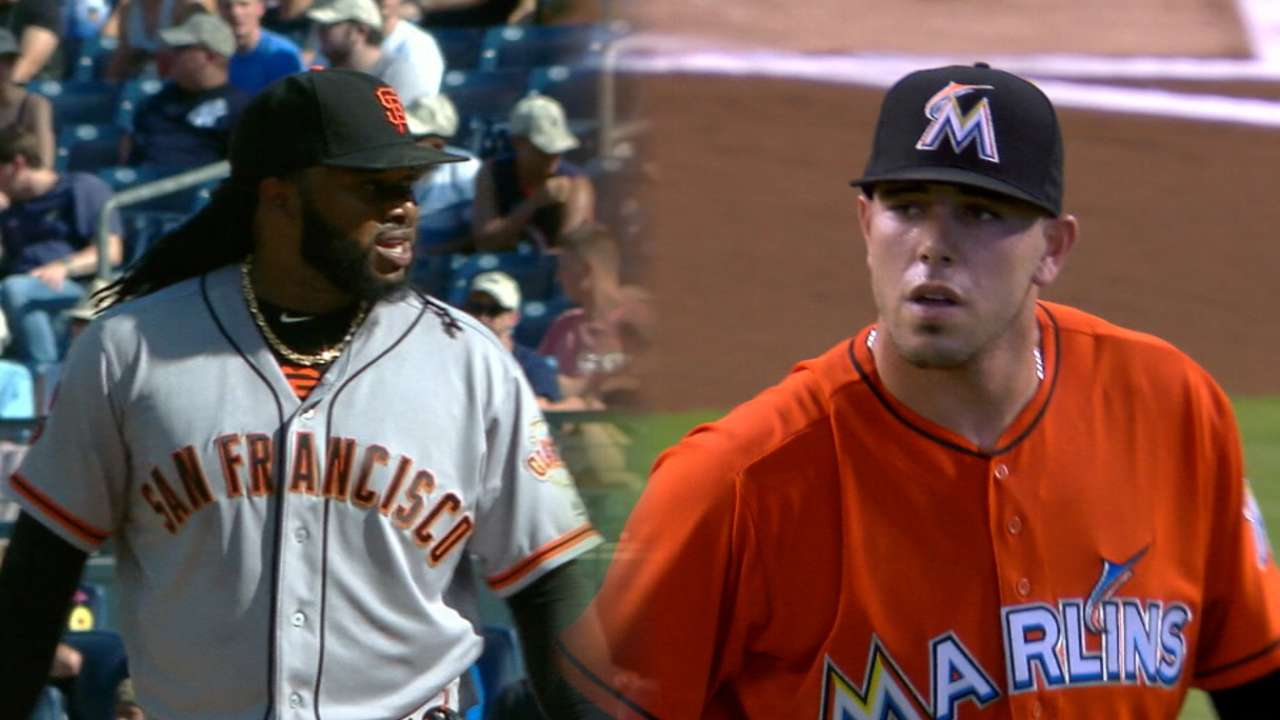 Cueto, Jose duel in South Beach on MLB.TV