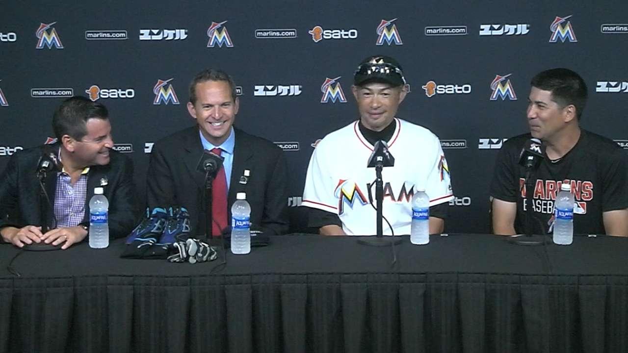 Ichiro honored to hit No. 3,000