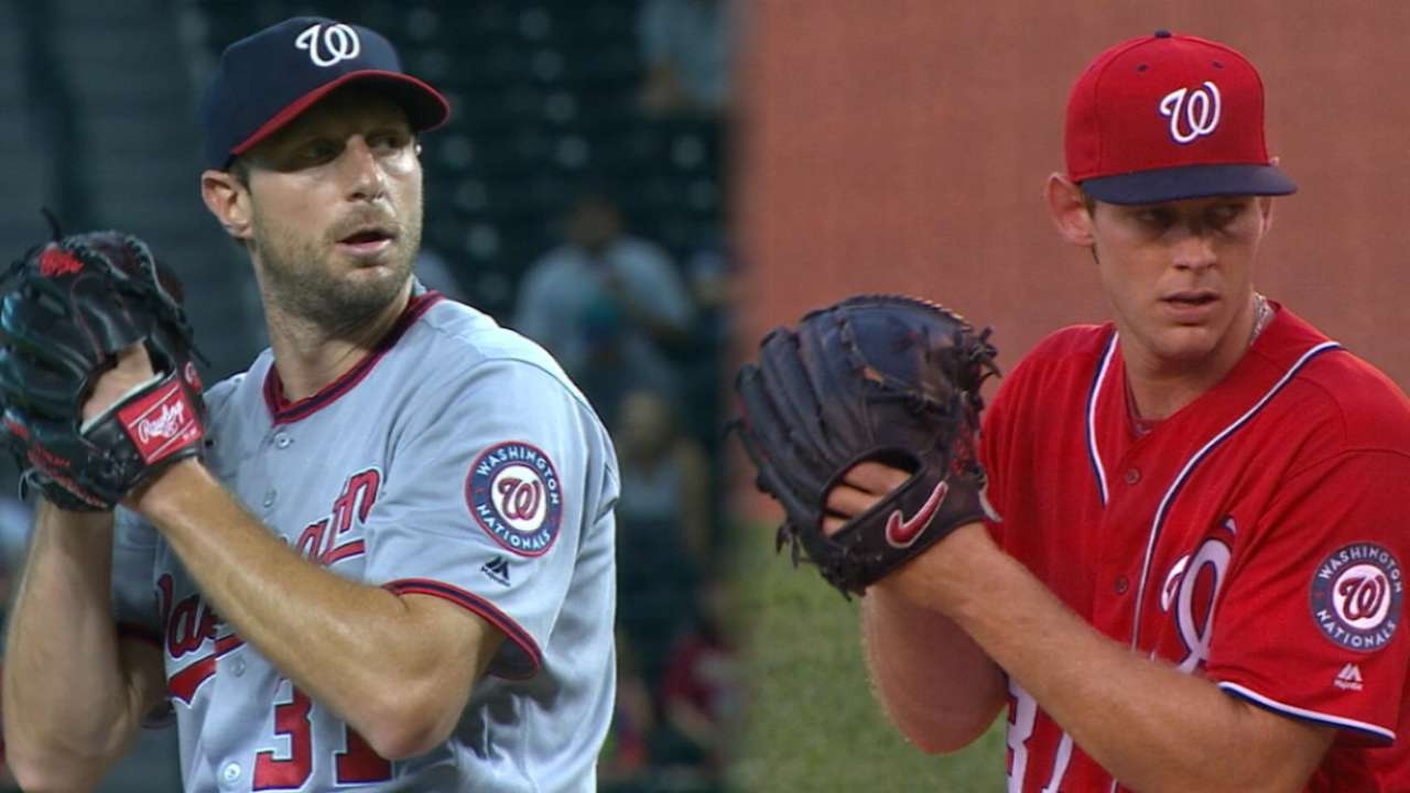 Tight NL Cy Young race centers on Nats duo