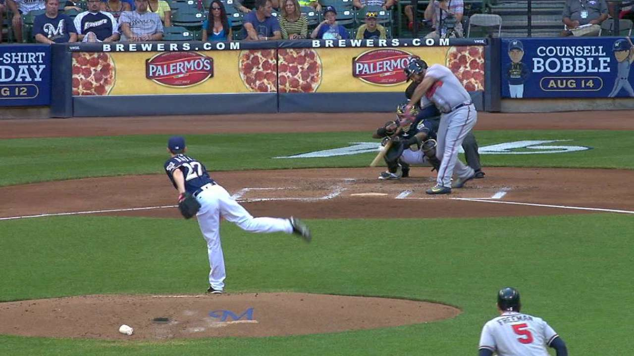 Kemp earns first day off as a Brave