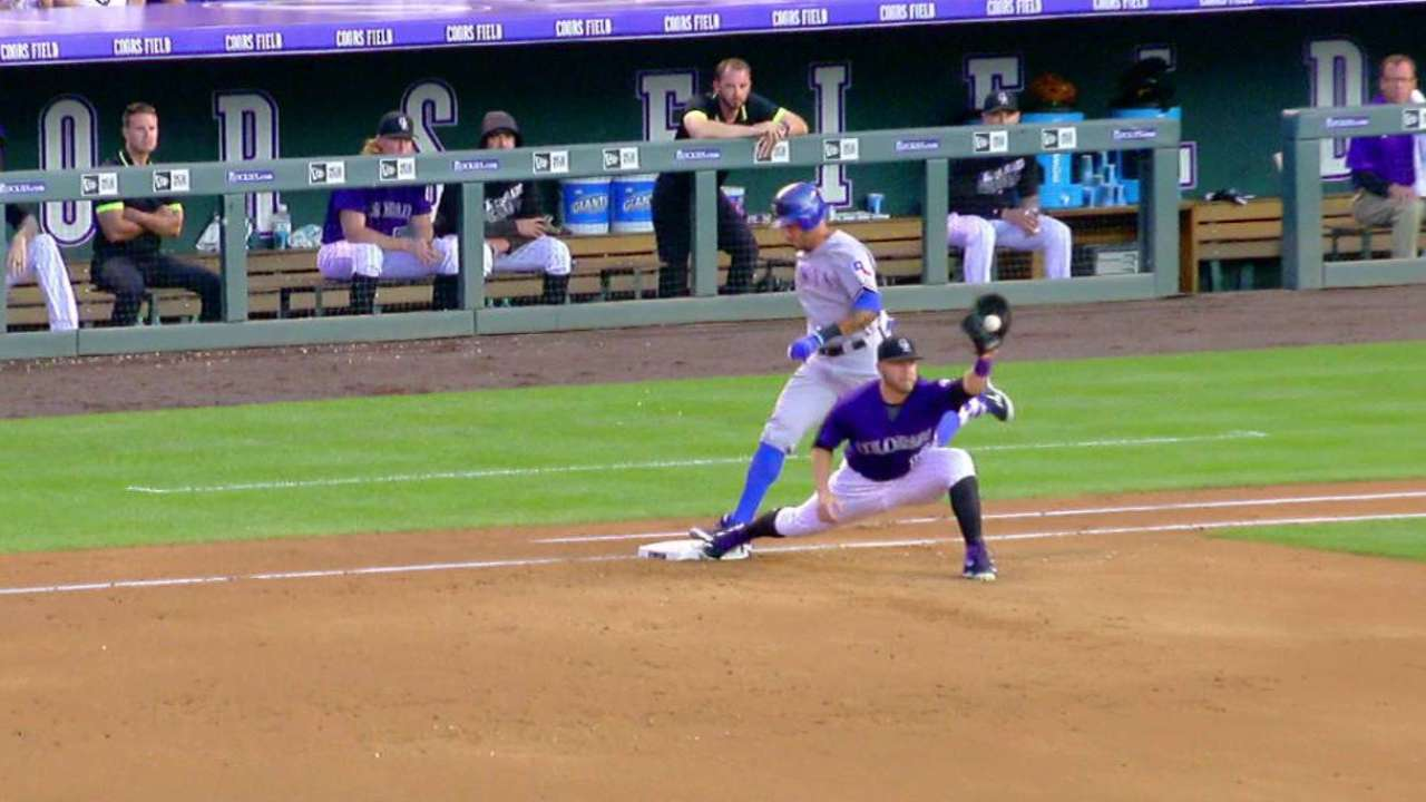 Call overturned at first base