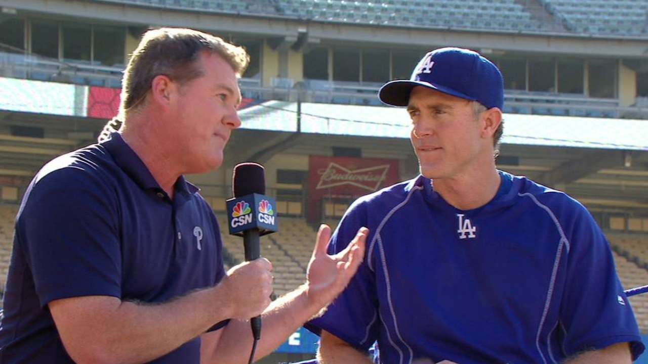 Utley looks back on good times with Phillies