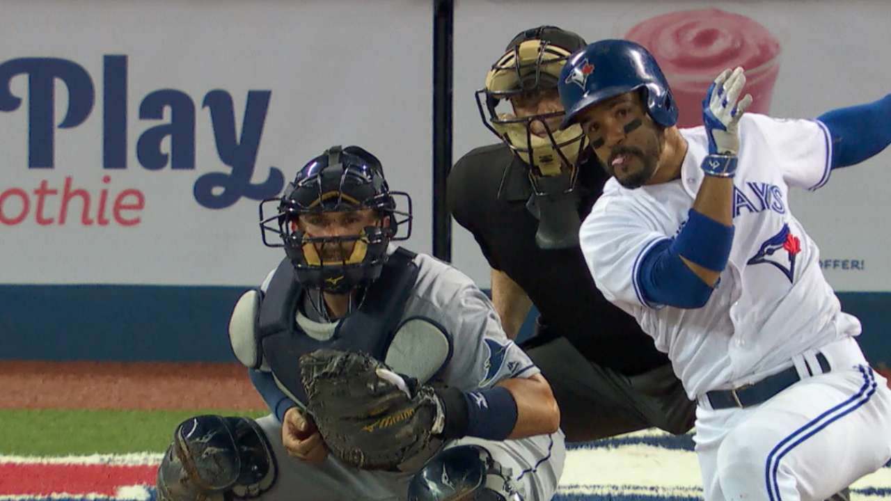 Travis becoming all-around player for Blue Jays