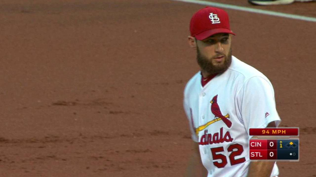 Wacha, Matheny thrilled with righty's session