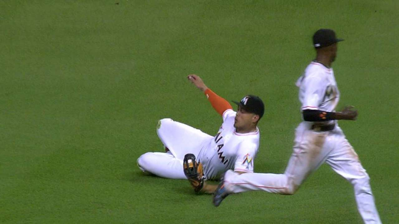 Stanton's scheduled day off unrelated to sore hip
