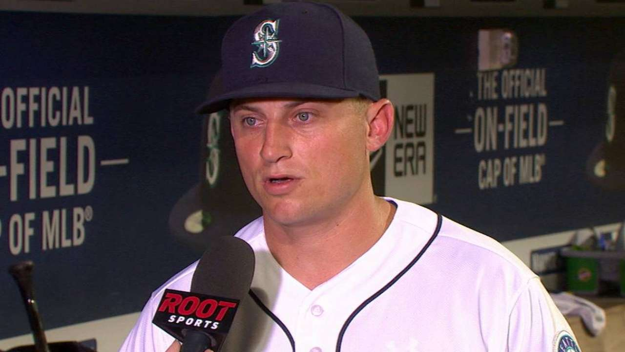 Seager on the bullpen