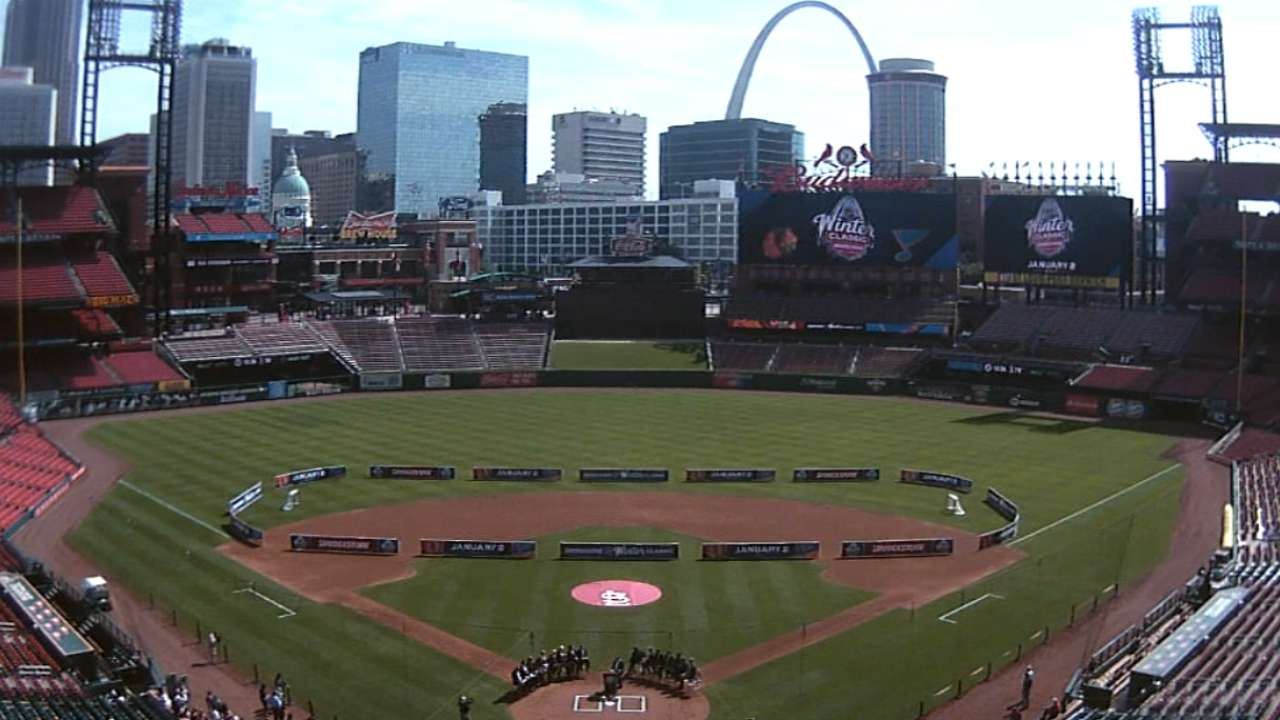 Franchise unity brings Winter Classic to St. Louis
