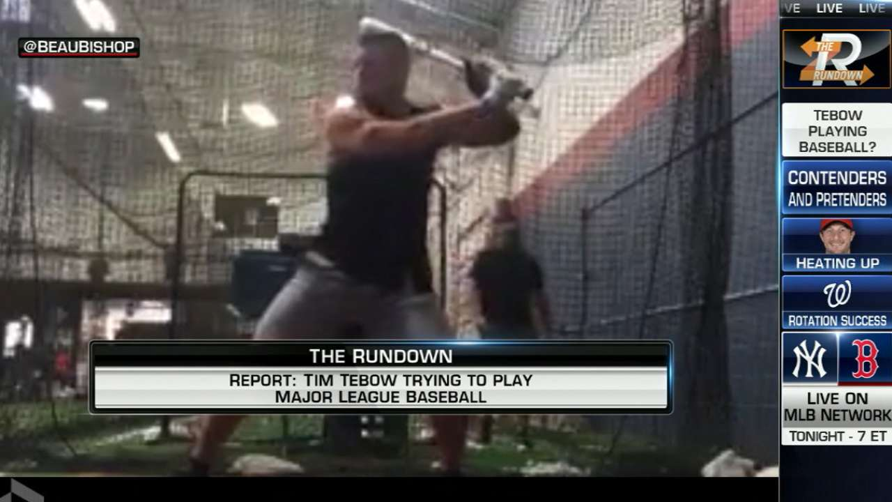 Rogers on Tebow's new career