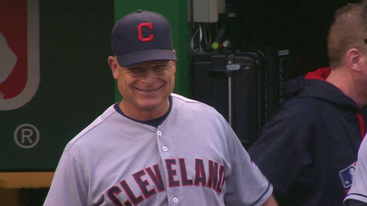 Francona not feeling well, sits out Tribe game in DC