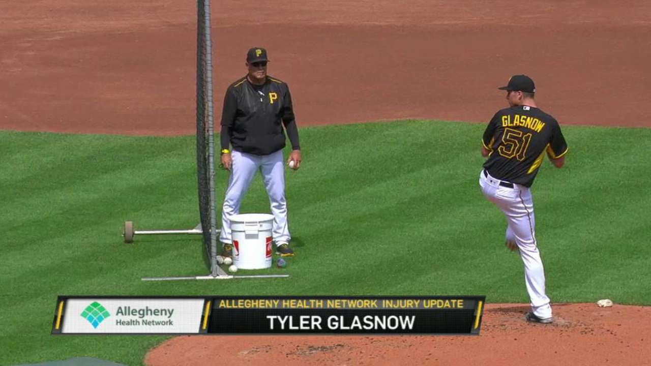 Glasnow's road to recovery
