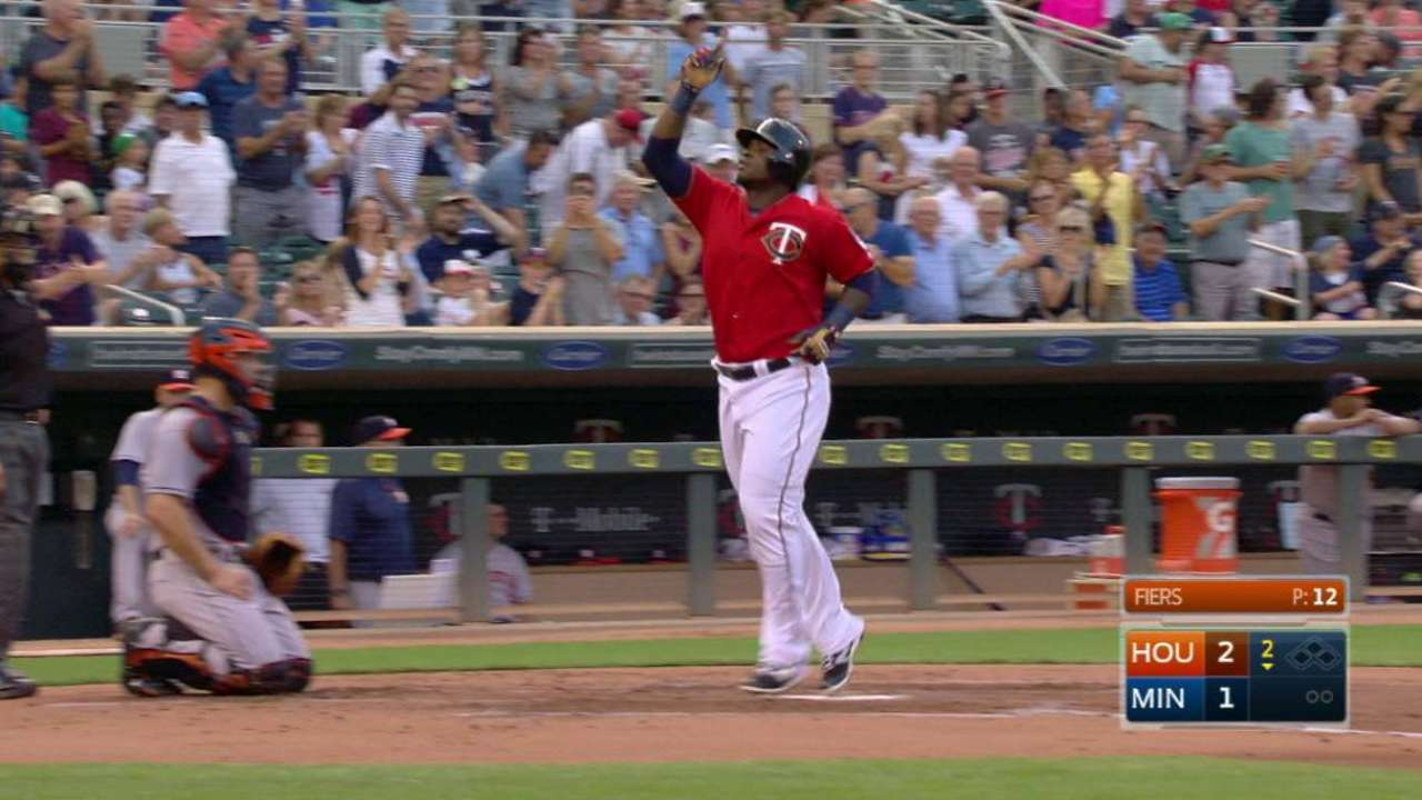 Sano's solo home run
