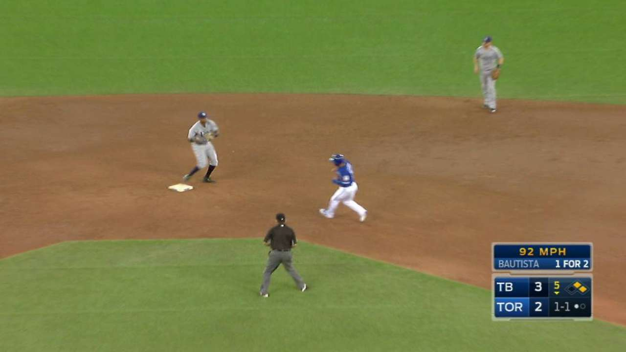 Rays turn two to end threat