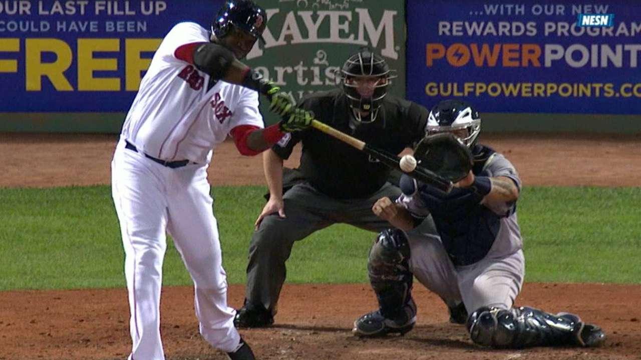 Porcello, bates de Boston sacaron la casta contra los Yankees
