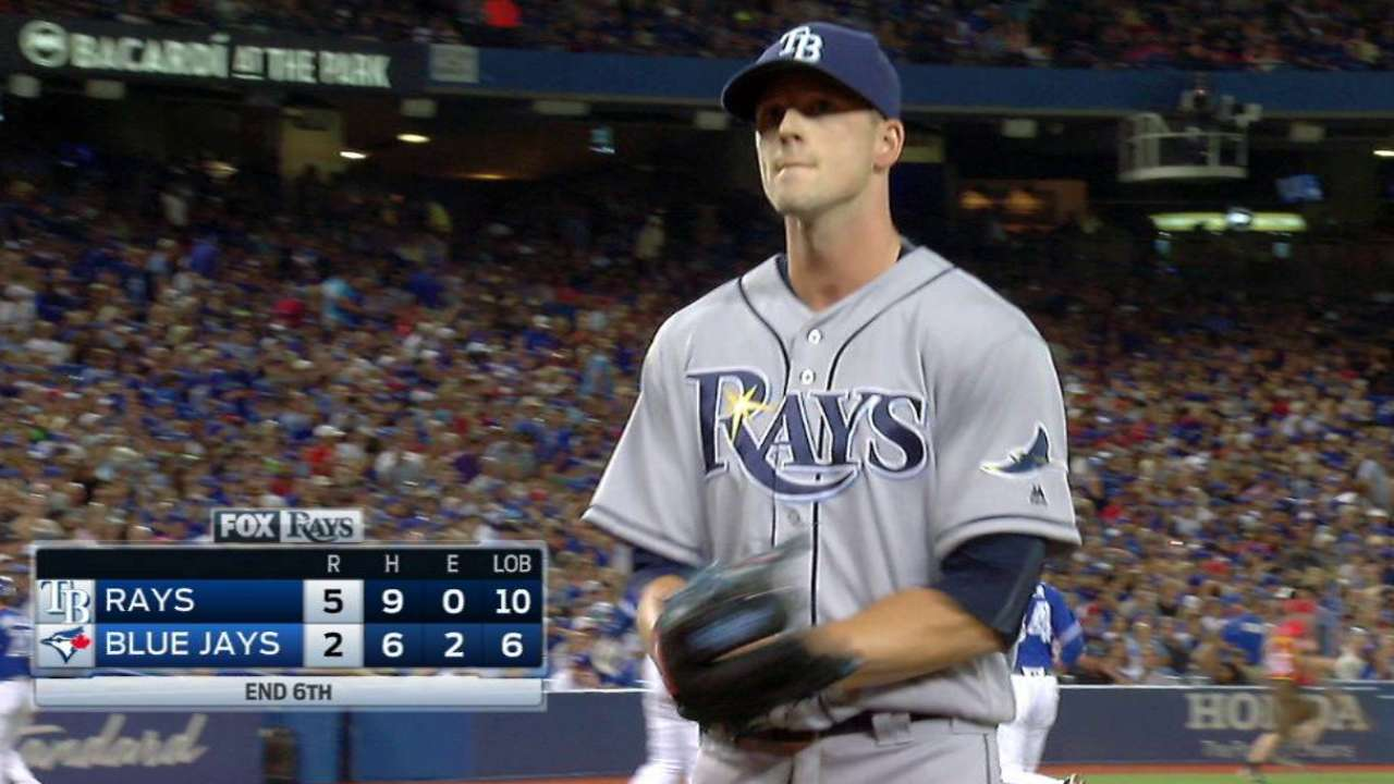Smyly works out of a jam