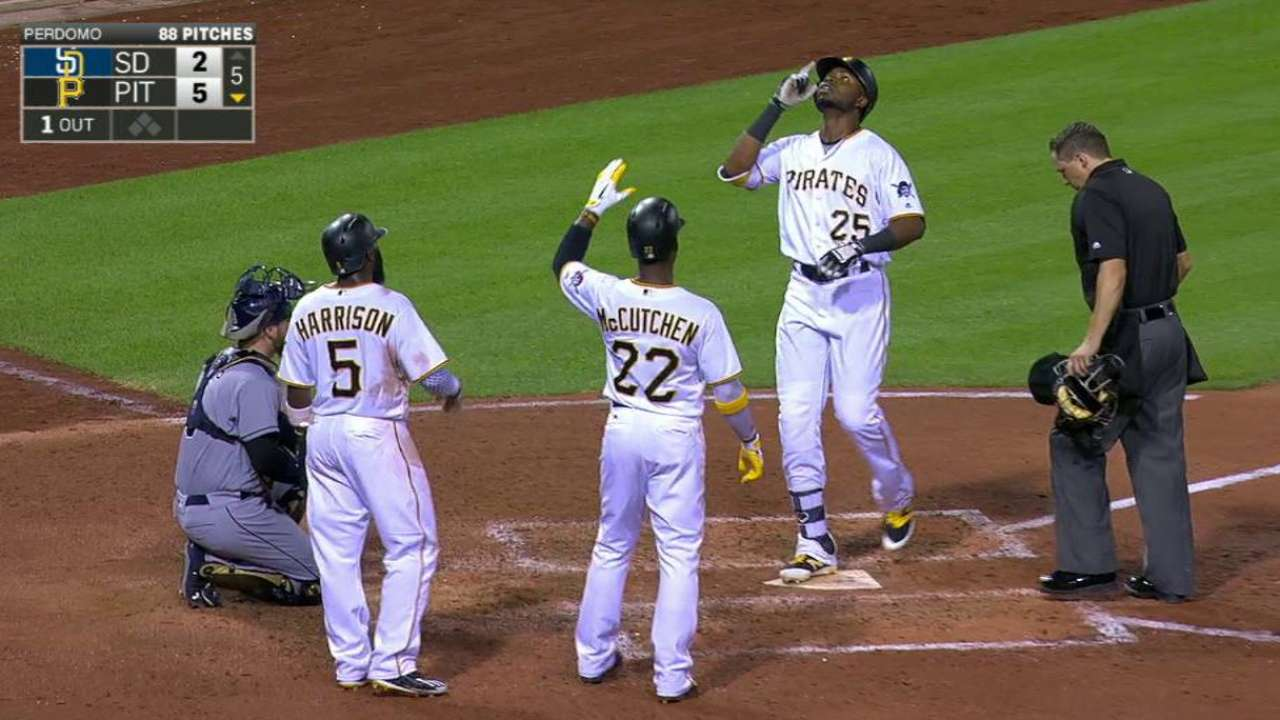 Polanco takes advantage of chance to hit cleanup