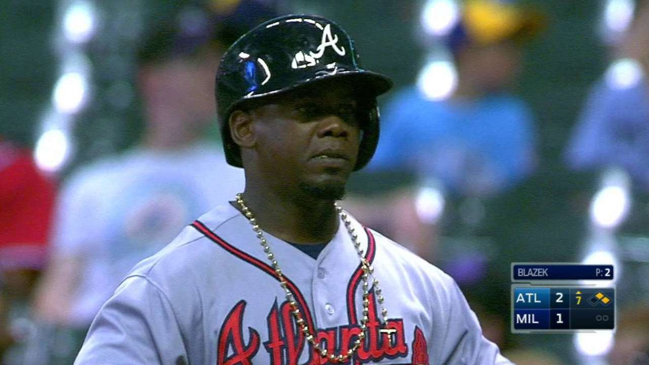 Jenkins leads Braves to 4th straight win