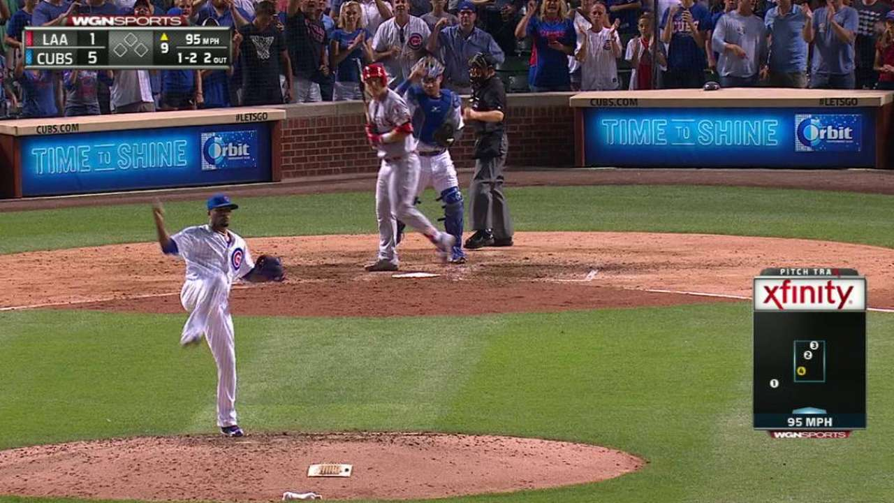 Strop secures Cubs' 70th win