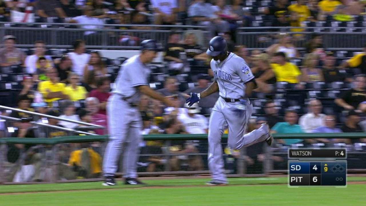 Blash's solo home run