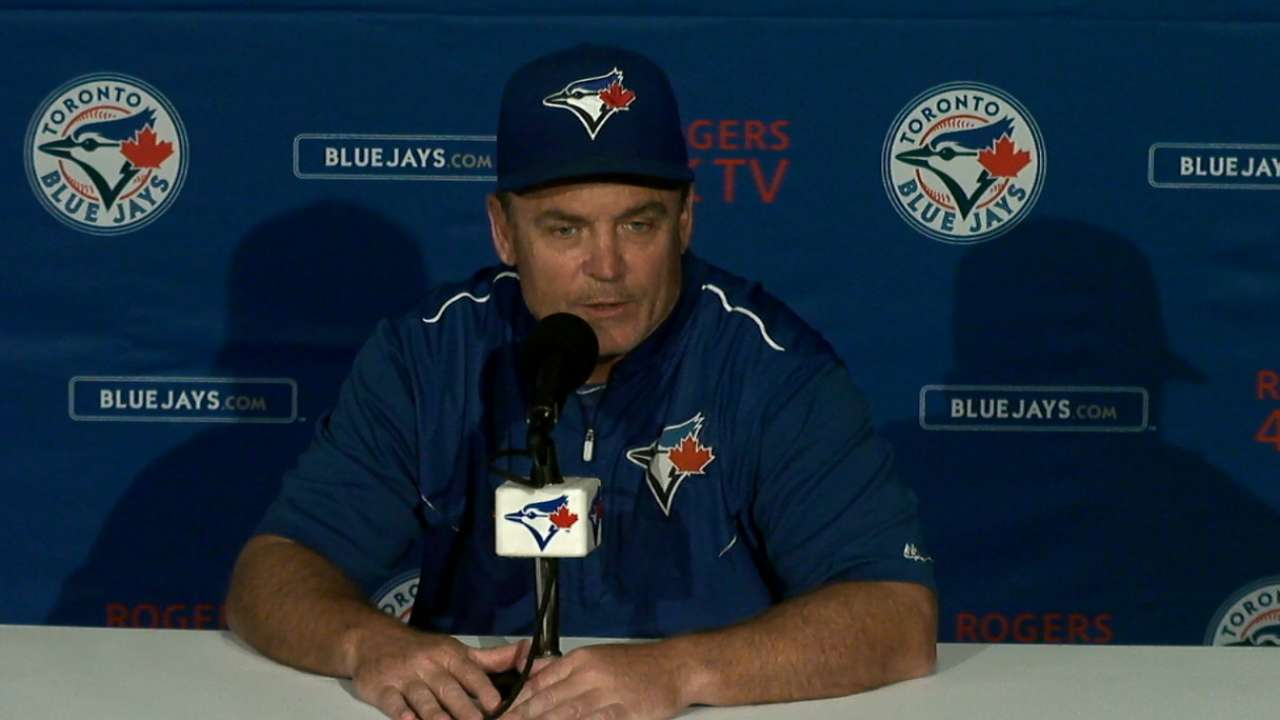 Gibbons on loss to Rays