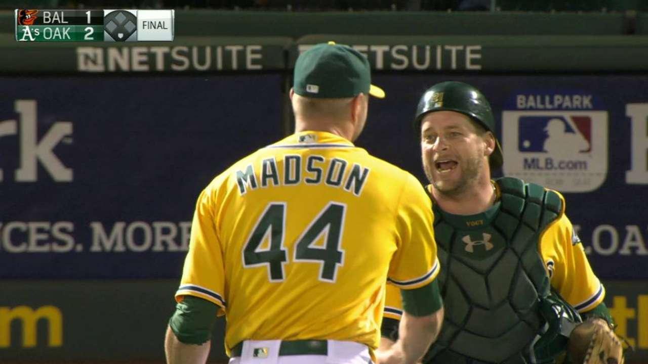 Madson locks down the win