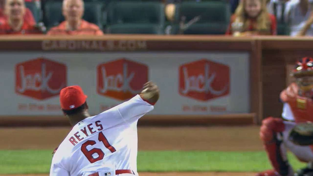 MLB Central on Alex Reyes' debut