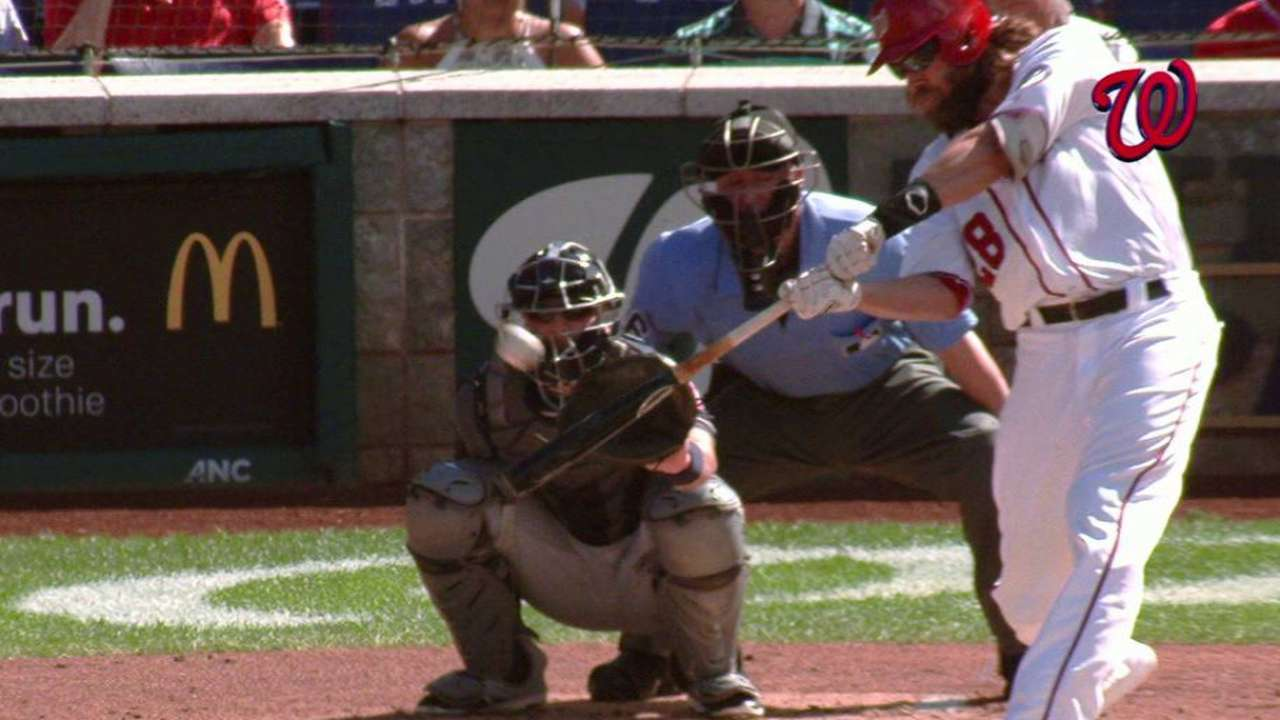 Werth's on-base streak extends to 40 games