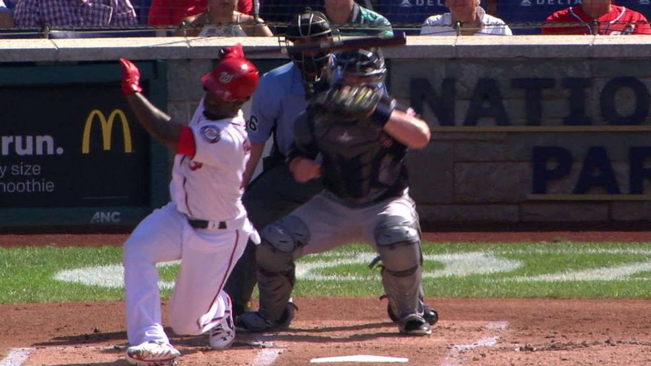 Tomlin strikes out Goodwin