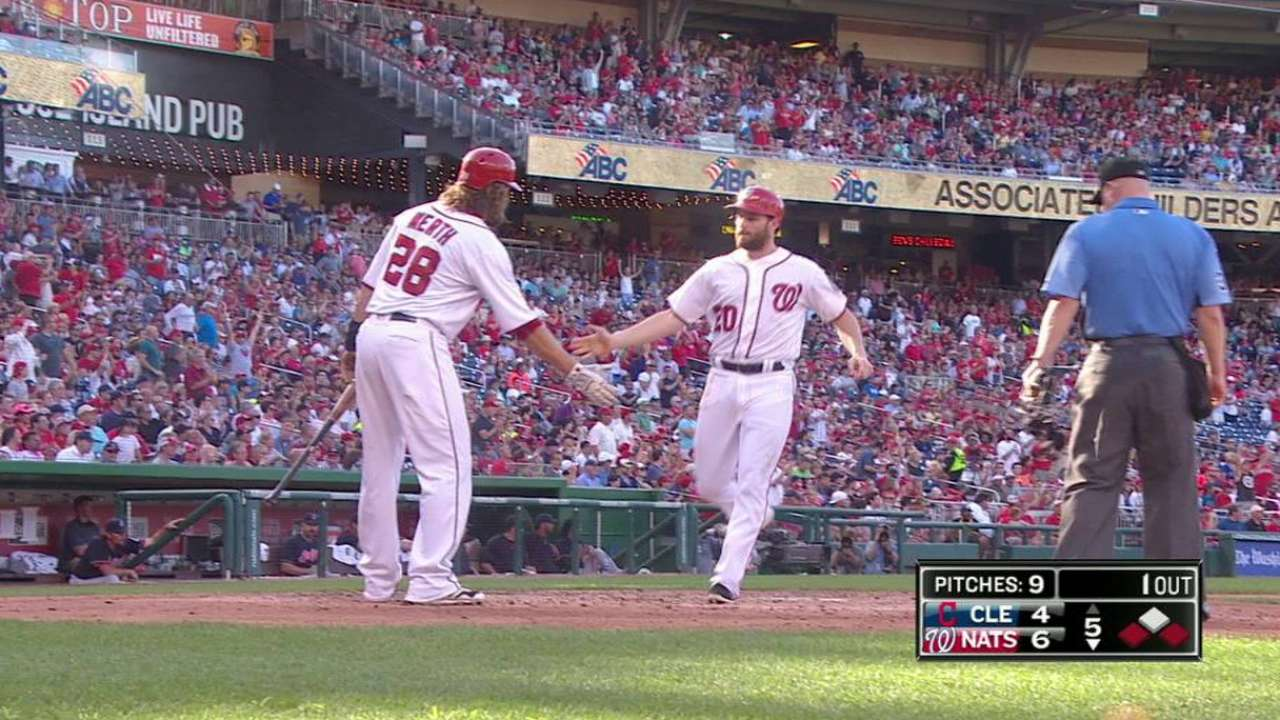Rendon, Werth invaluable in Nats' finale victory